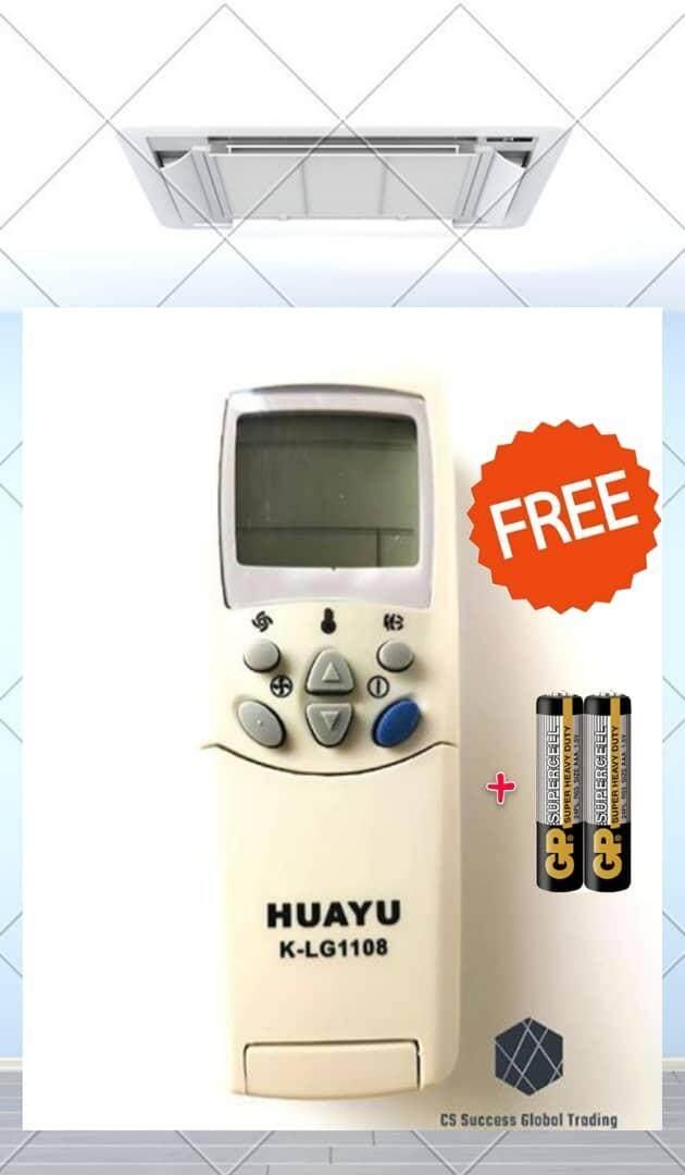 HUAYU UNIVERSAL K-LG1108 LG A/C REMOTE CONTROL (Ready Stock)