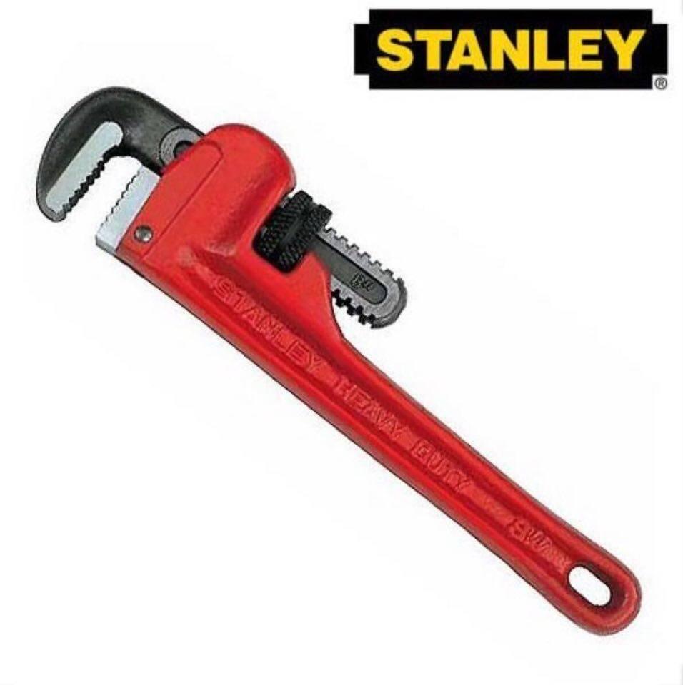 "Stanley Range Pipe Wrench Lock 6"" / 8"" / 10"" / 12"" / 14"" / 18"" / 24"" / 36"""
