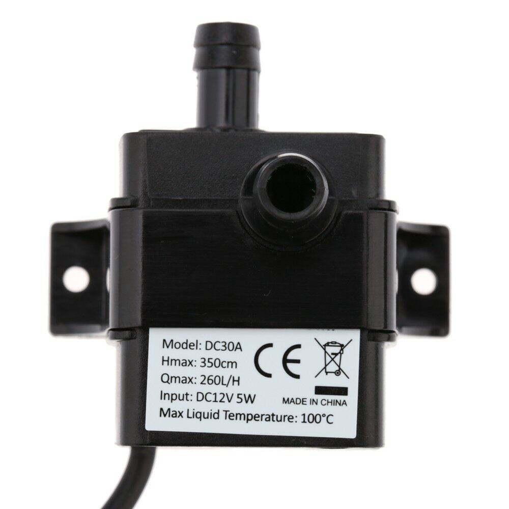 Outdoor & Garden - ULTRA-quiet MINI DC12V 5W Micro Brushless Water Oil Pump Waterproof - Home Improvement