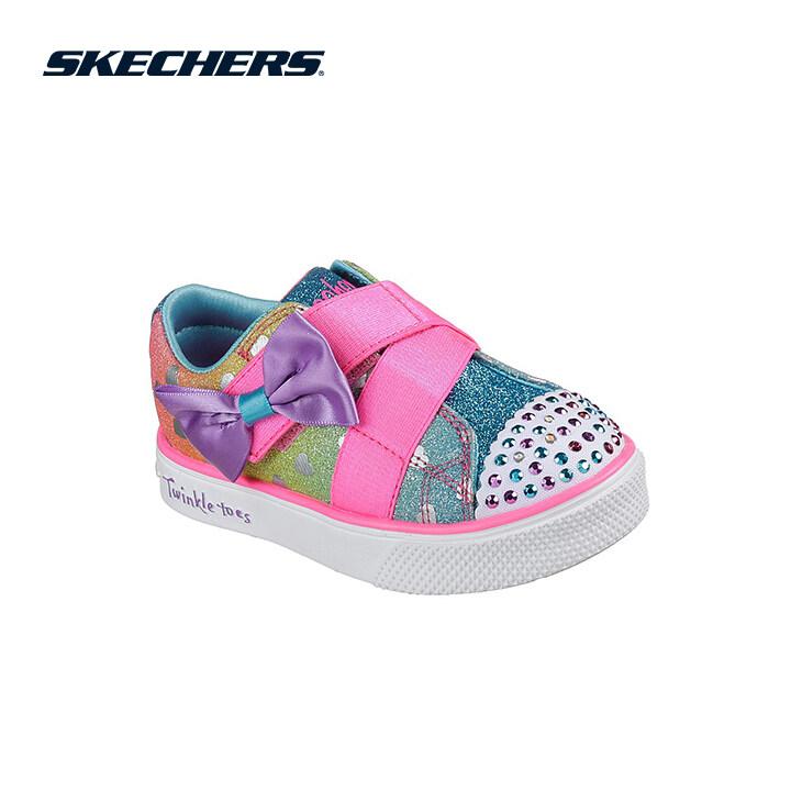 Skechers Twinkle Breeze 2.0 Girls Lifestyle Shoe - 10994N-MLT