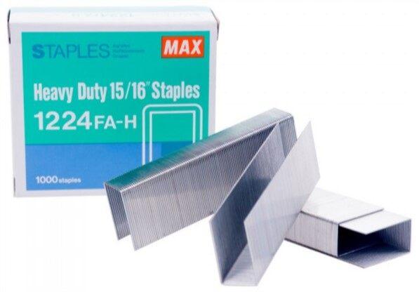 MAX Staples 1224 FAH (Stapler Bullet)