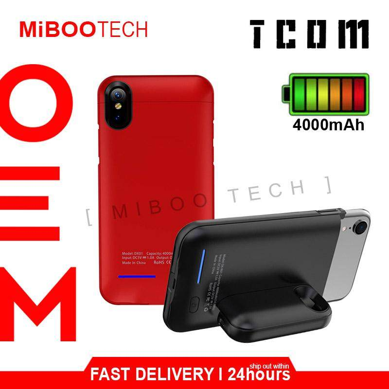 [Miboo] Tcom iPhone XR / IPhone X / IPhone XS / IPhone XS MAX Powercase Magnetic Rechargeable Charging Battery Case Powercase - iPhone XS ipX 4000-5000