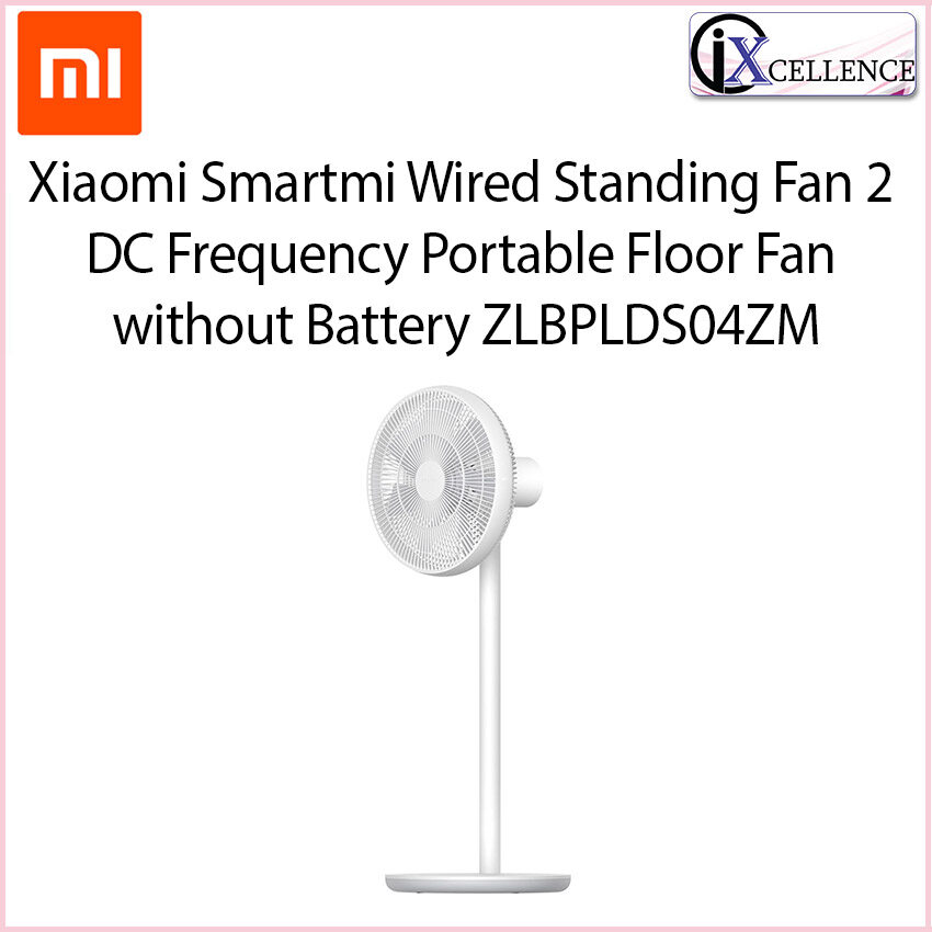 [IX] Xiaomi Mi Smartmi Natural Wind Pedestal Fan 2 / 2S DC Frequency Fan 20W 2800mAh 100 Speed Control