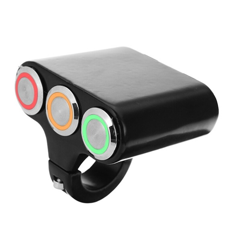 Moto Accessories - Momentary Switch Fog Headlight Motorcycle Handlebar Mount - Motorcycles, Parts