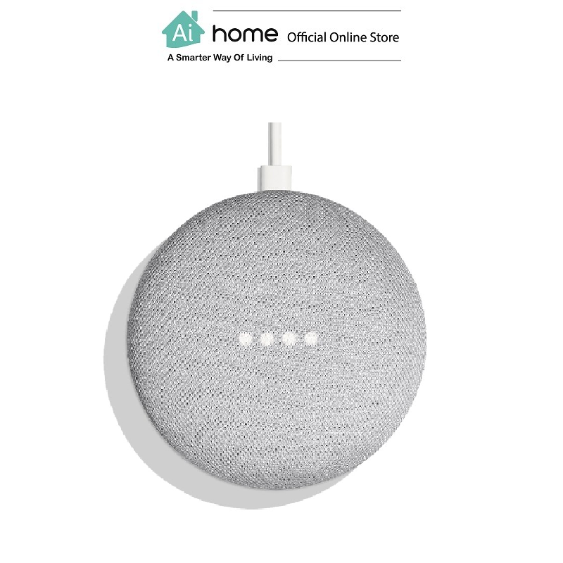 GOOGLE Home Mini [ Smart Speaker ] Google Assistant with 1 Year Malaysia Warranty [ Ai Home ] GHMC
