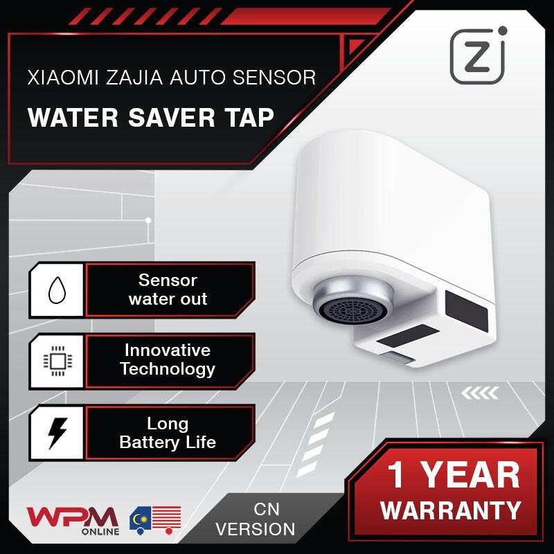 [RDY STOCK]Xiaomi Zajia Automatic Sensor Infrared Water Saver Tap Anti-overflow Kitchen Induction Sink USB Za Jia Zanjia