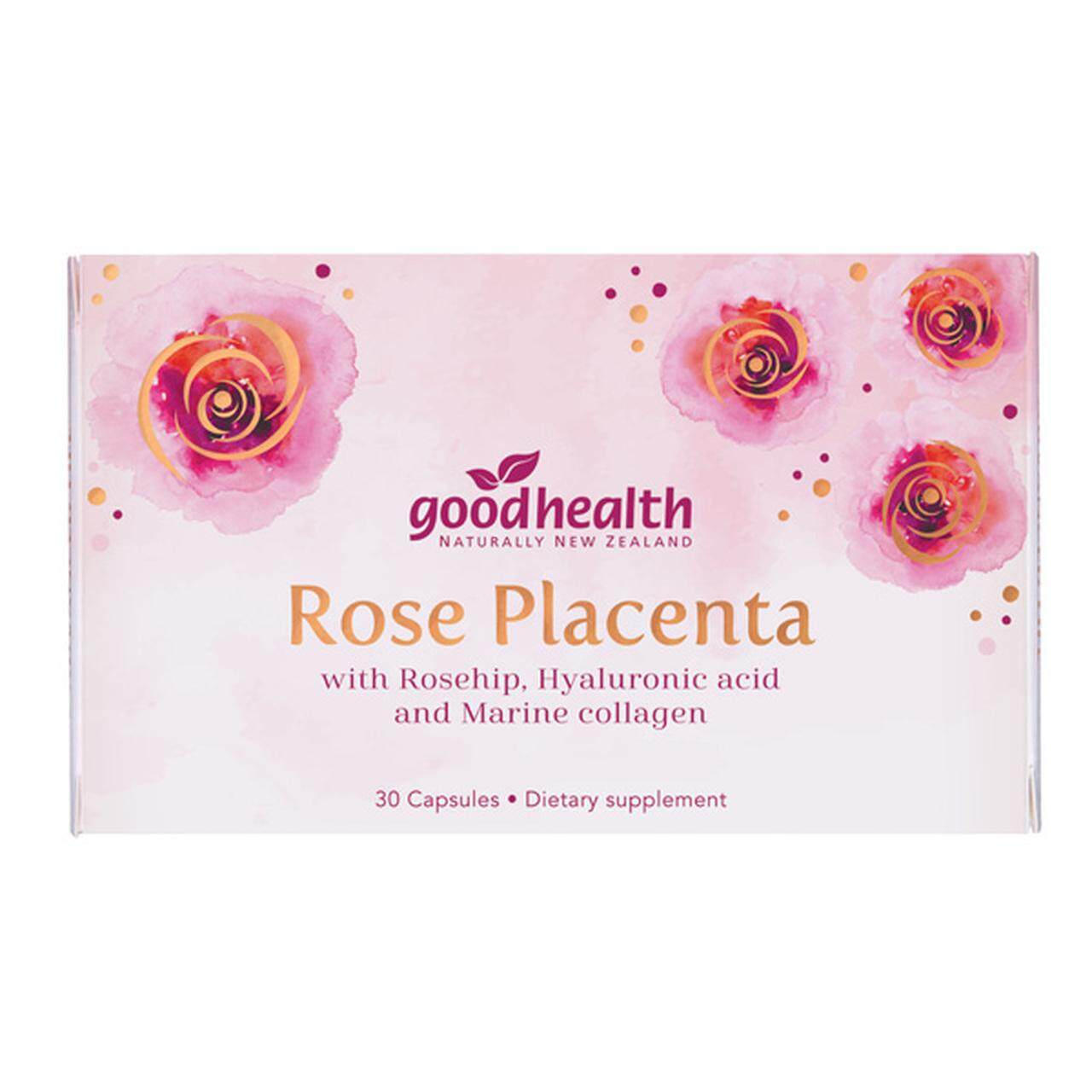 GOOD HEALTH Rose Placenta 30 capsules
