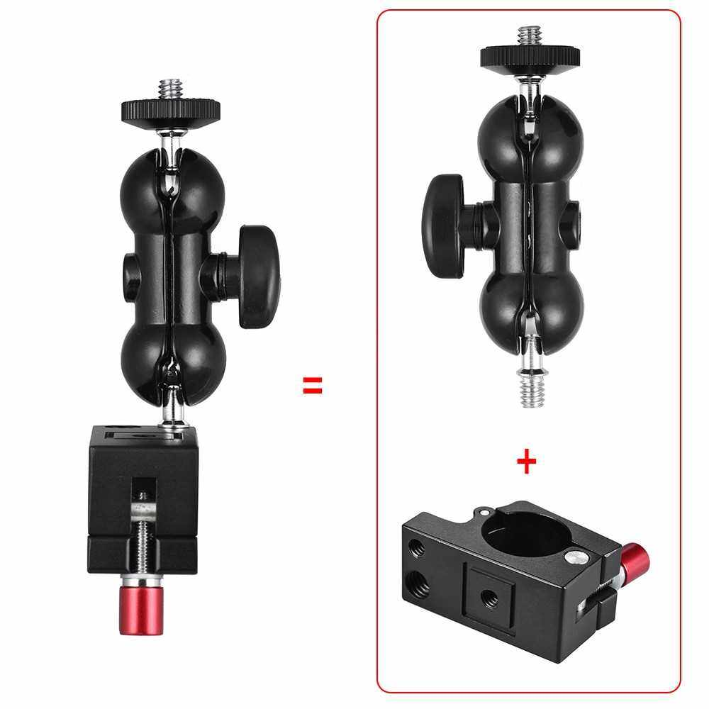 Best Selling Andoer 25mm Rod Clamp with Articulating Friction Arm Monitor Mount (Black)
