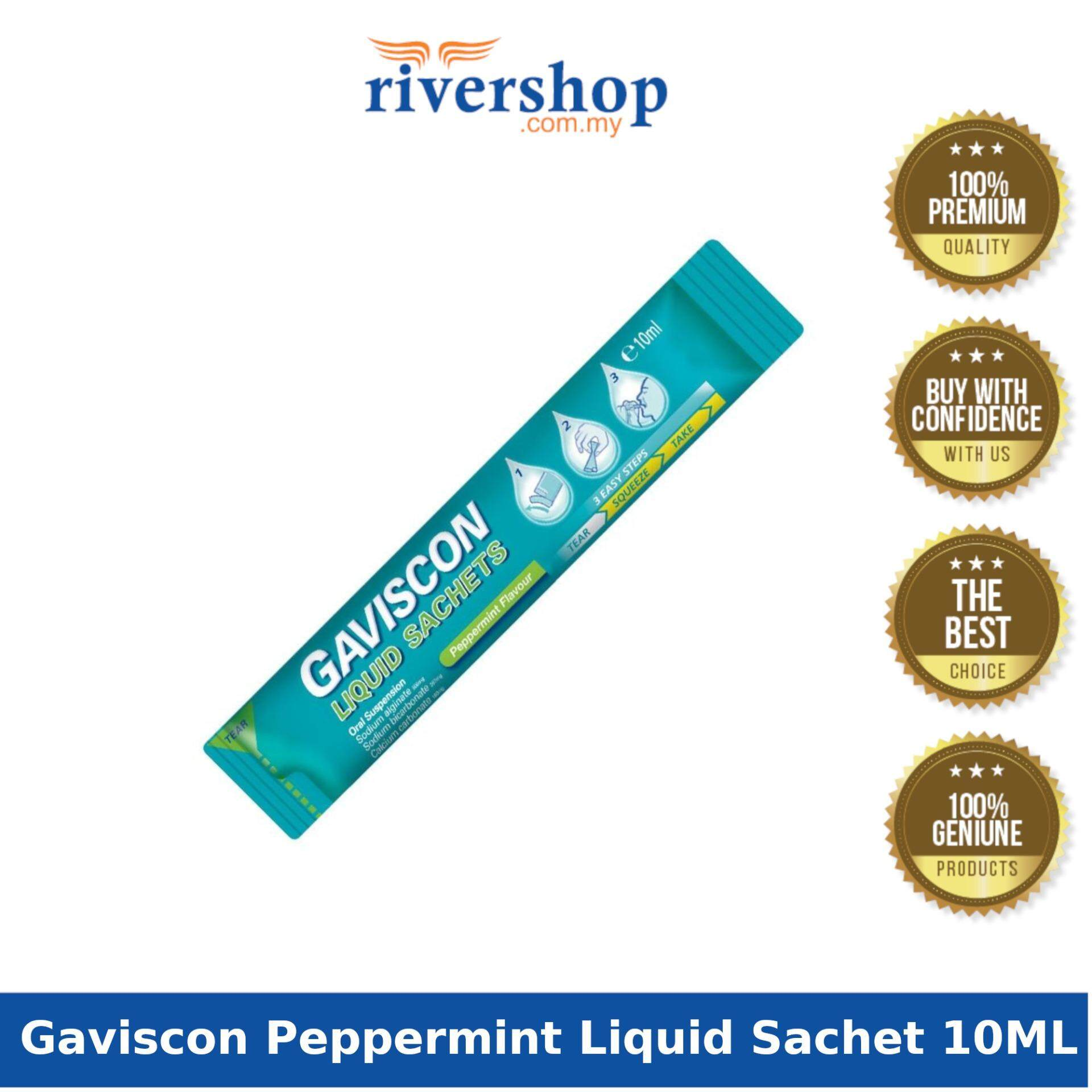 Gaviscon Peppermint Liquid Sachet 10ML