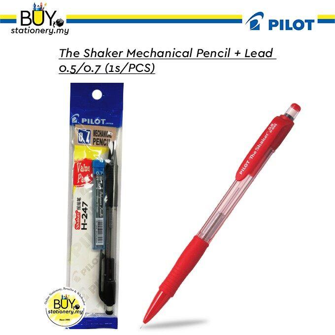 Pilot The Shaker Mechanical Pencil + Lead 0.5/0.7 - (1s/PCS)