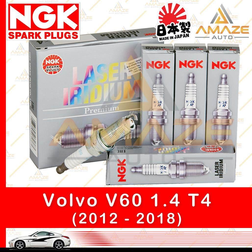 NGK Laser Iridium Spark Plug for Volvo V60 1.6 T4 (2012-2018) - Longest Usage life and high performance