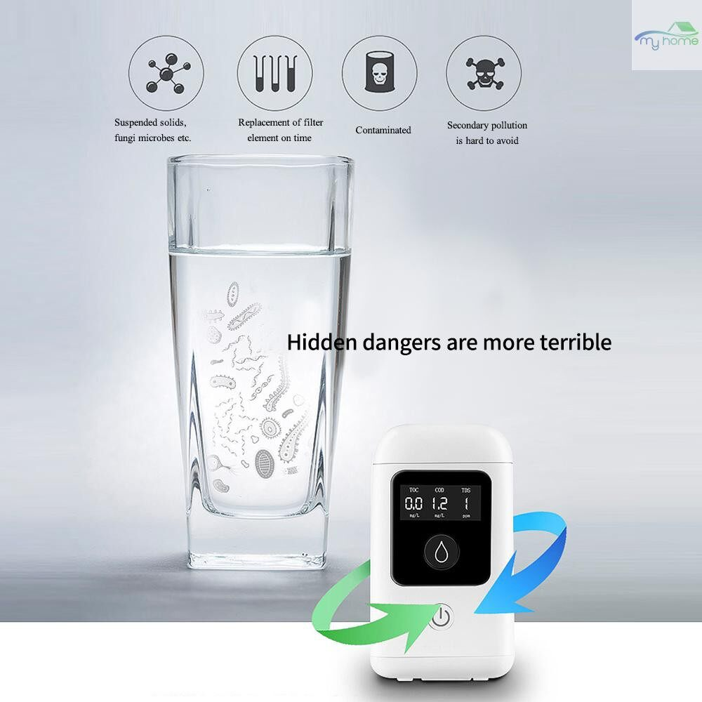 DIY Tools - 3 In 1 Digital LCD High Accuracy TOC COD TDS Water Quality Tester Household Pool Tank Drinking - WHITE
