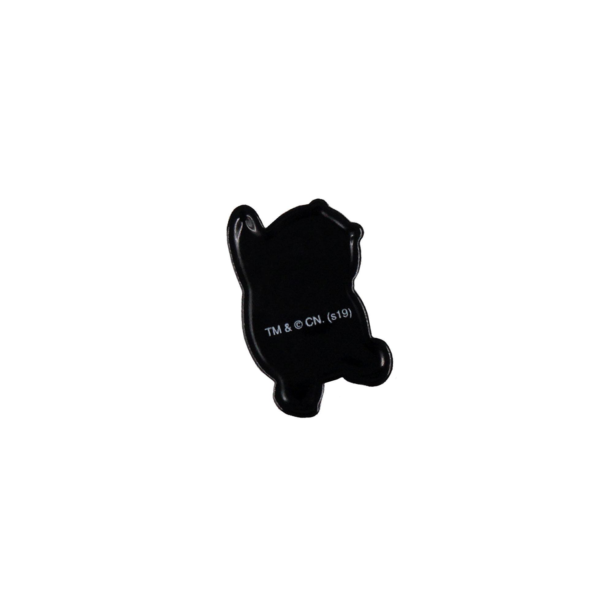 We Bare Bears Panda Pvc Magnet - Grey & White