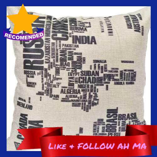 Best Selling Household pillows hold pillow covers 154 a set of world map (Standard)