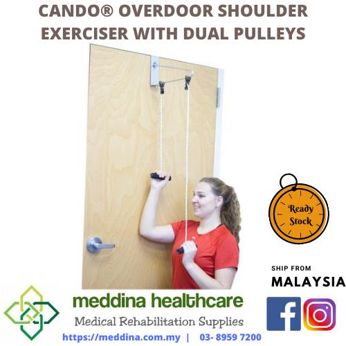 CanDo® Overdoor Shoulder Exerciser with Dual Pulleys