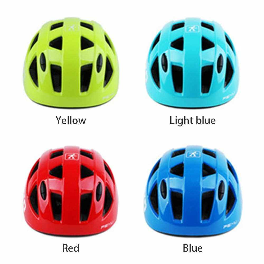 Best Selling Kids Helmets Bike Safety Helmet Lightweight 14 Vents Cycling Equipment for Cycling Skating Scooter Sport (Light Blue)