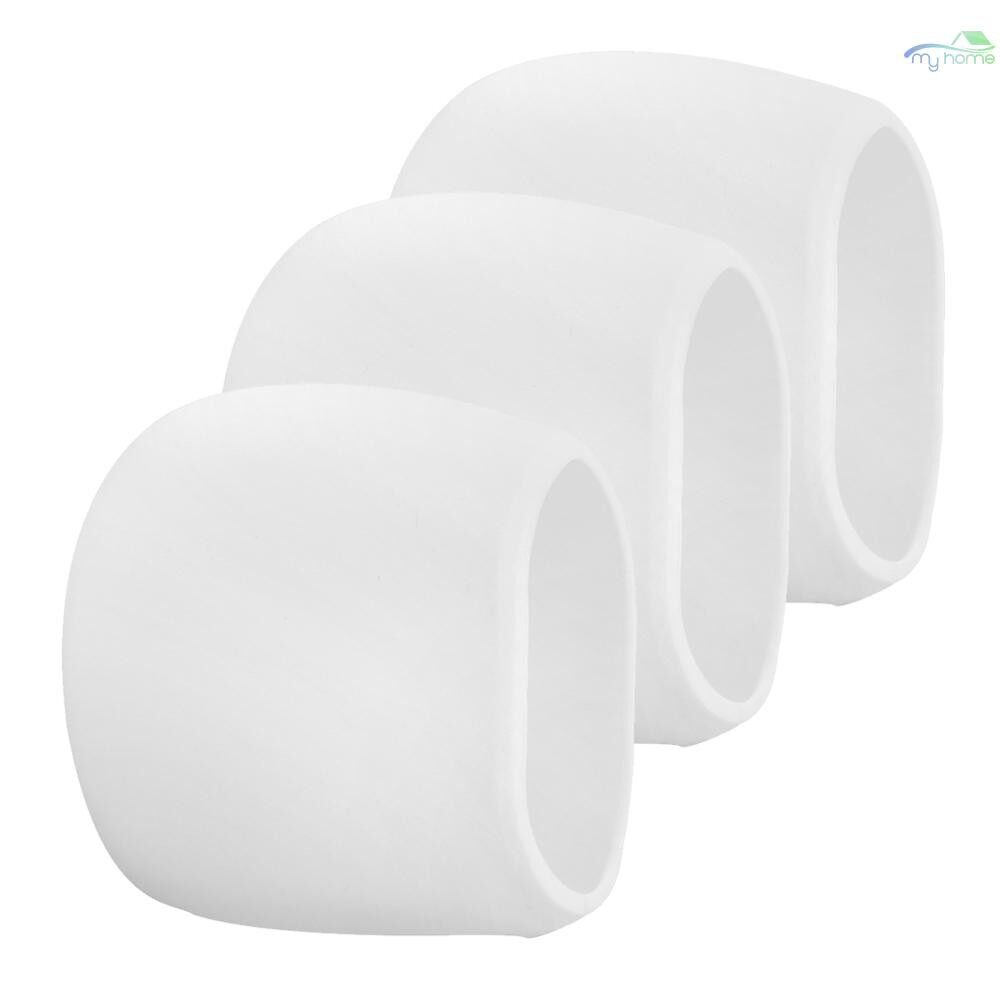 Monitors - 3 Packs Silicone Case for Arlo Cameras Security Weatherproof Protective Case,White - WHITE-3 / WHITE-1 / BLACK-1 / 3