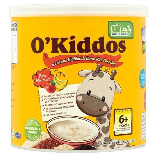 O'Kiddos Baby Rice Porridge - MIx Fruit (220G)