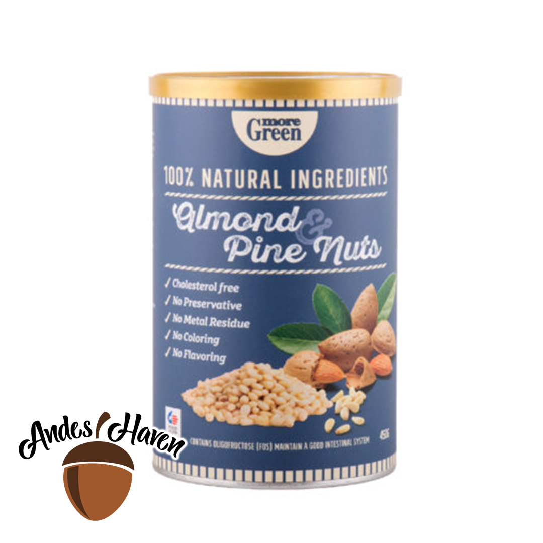【More Green】Almond & Pine Nuts - 500g
