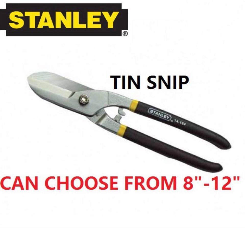 "Stanley Tinsnips Tin Snip Snips Scissor Cutter Scissors 8"" / 10"" / 12"" / 14"""