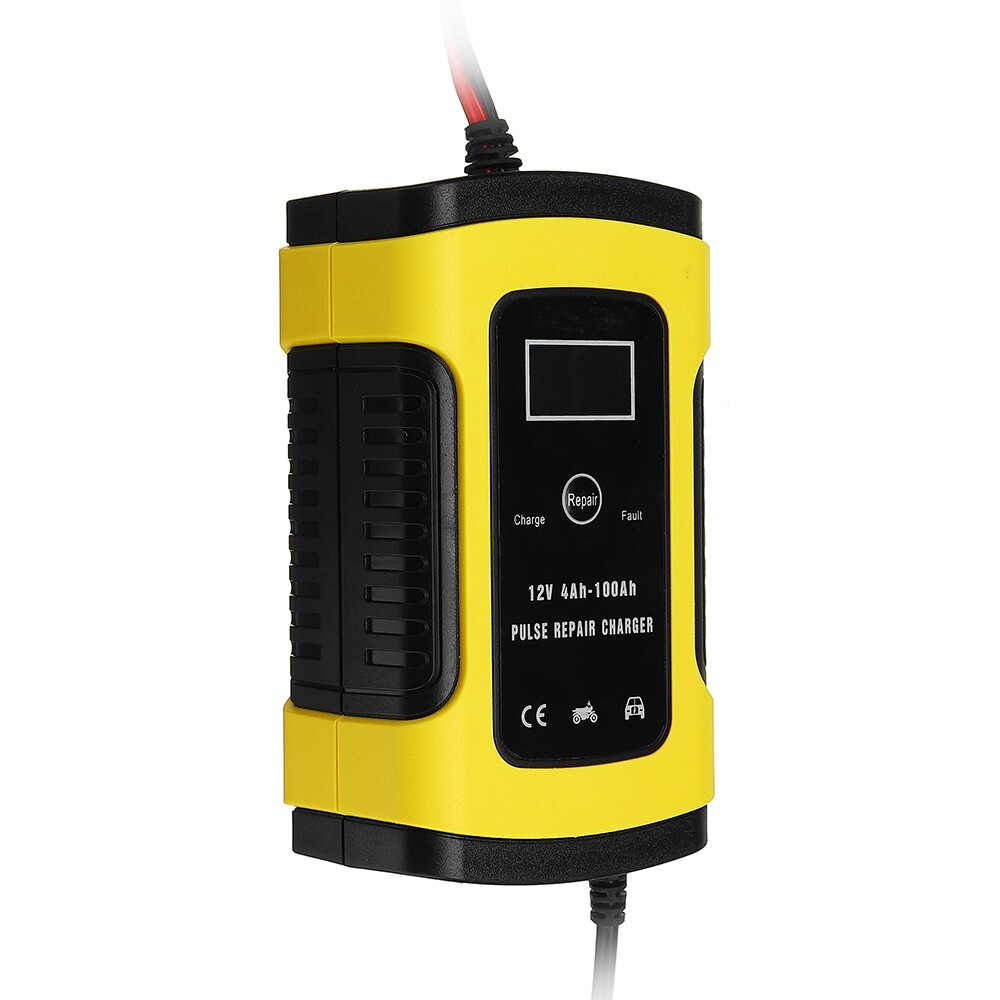 Automotive Tools & Equipment - iMars 12V 6A Pulse Repair LCD For Car Motorcycle Lead Acid Agm Gel Wet - Car Replacement Parts