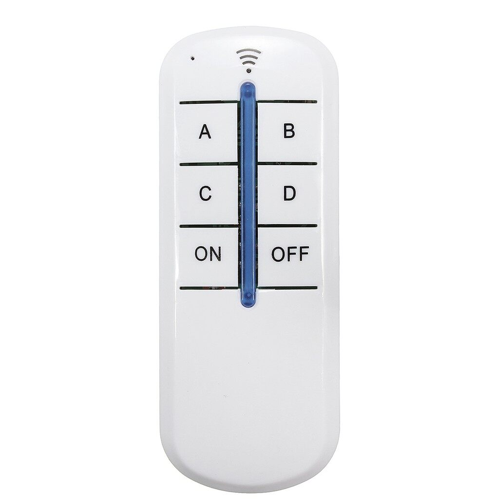 Car Accessories - 4 Way Intelligent Remote Control Switch LED Remote Control Sub-control - Automotive