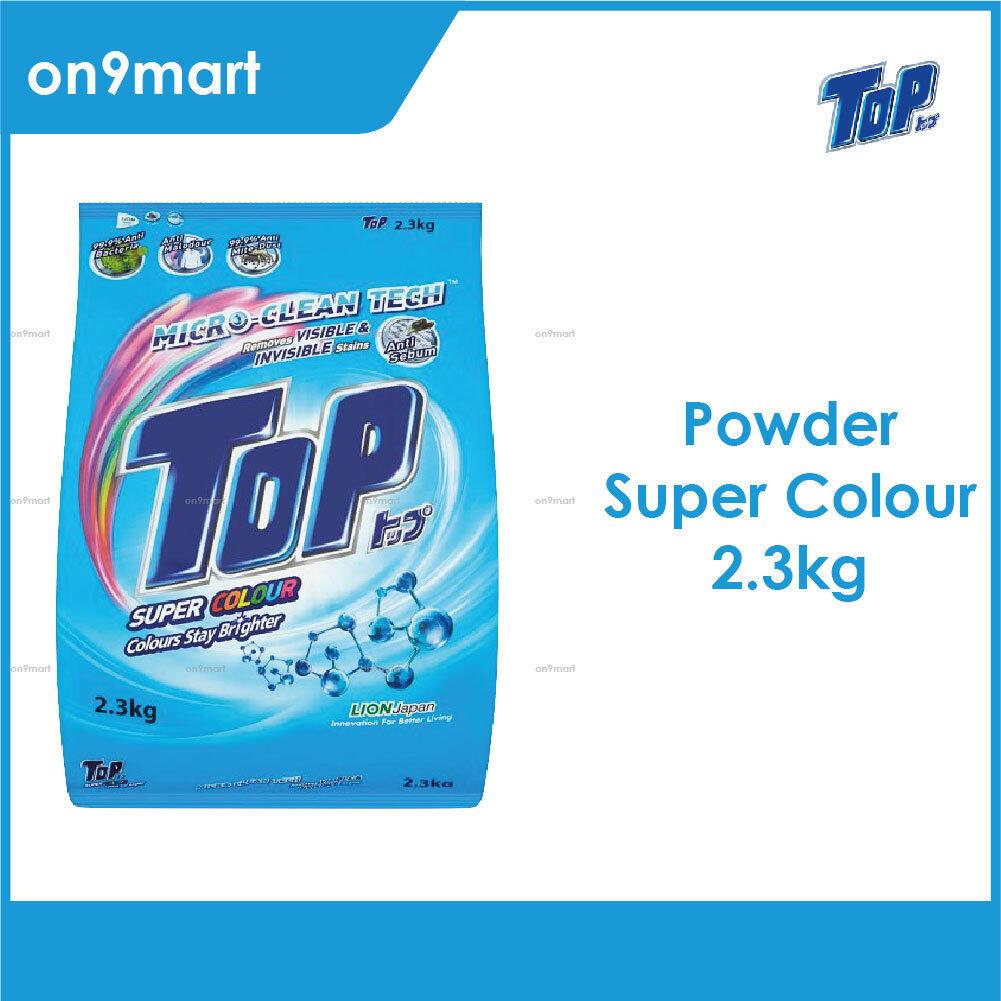 TOP Powder Laundry Detergent - Super Colour 2.3kg