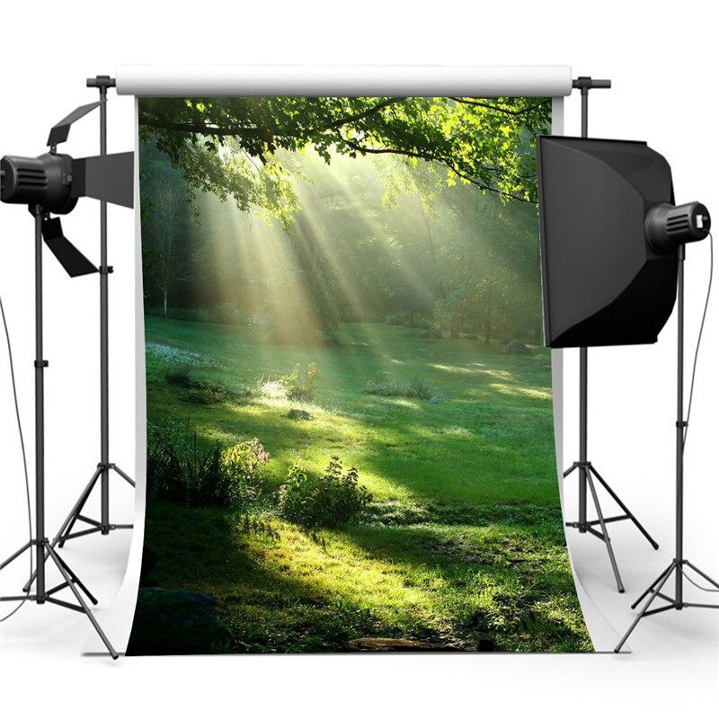 Lighting and Studio Equipment - Studio Photography Backdrop Photo Background 3x5FT What a Beautiful Morning - Camera Accessories