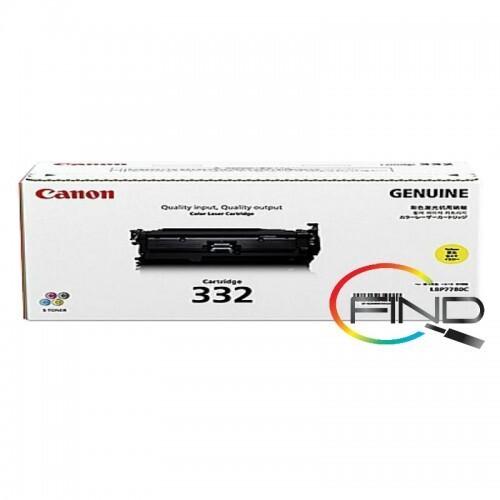 CANON CART 332 YELLOW TONER for LBP-7780Cx Printer