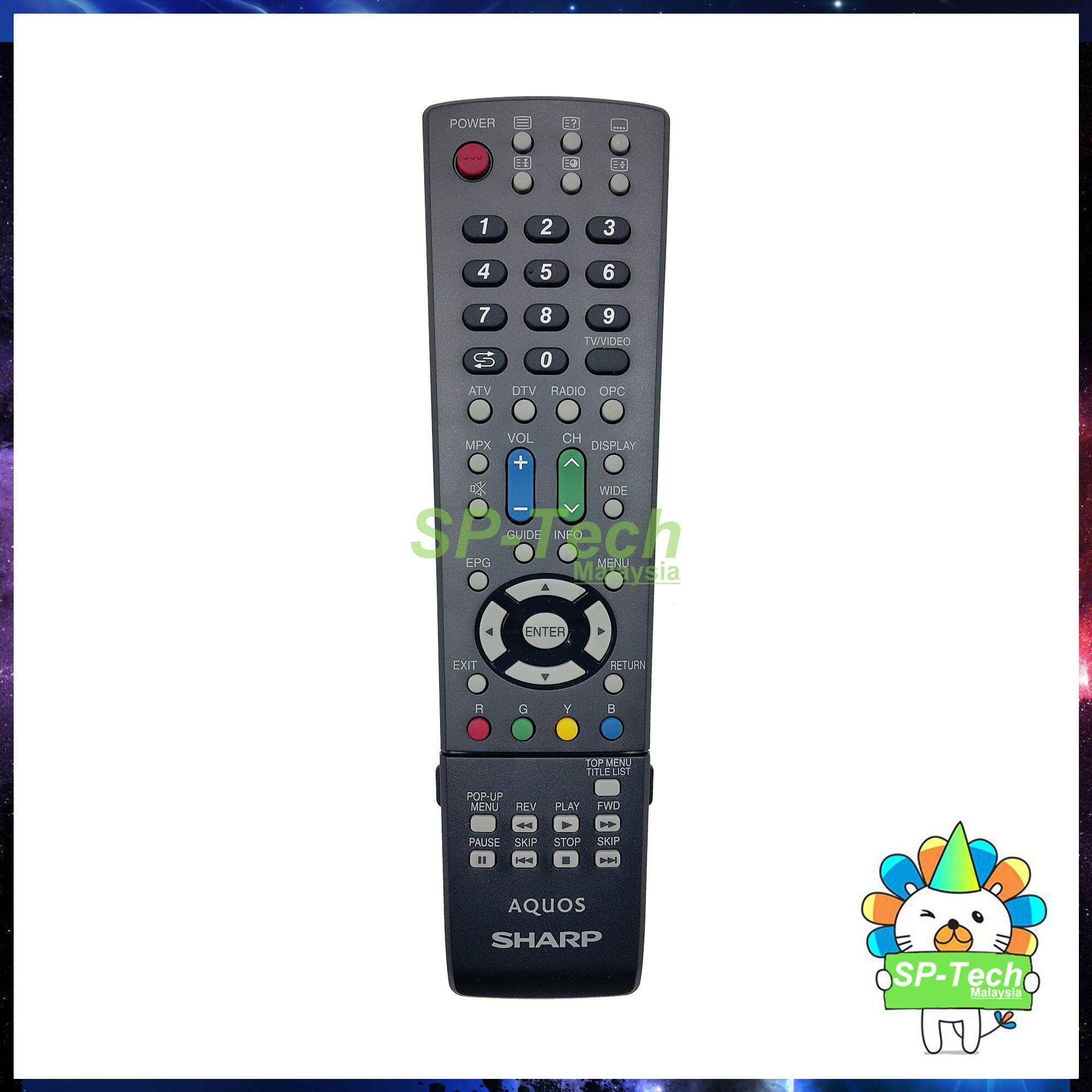 GA809WJSA SHARP LCD/LED TV REMOTE CONTROL [ORIGINAL]
