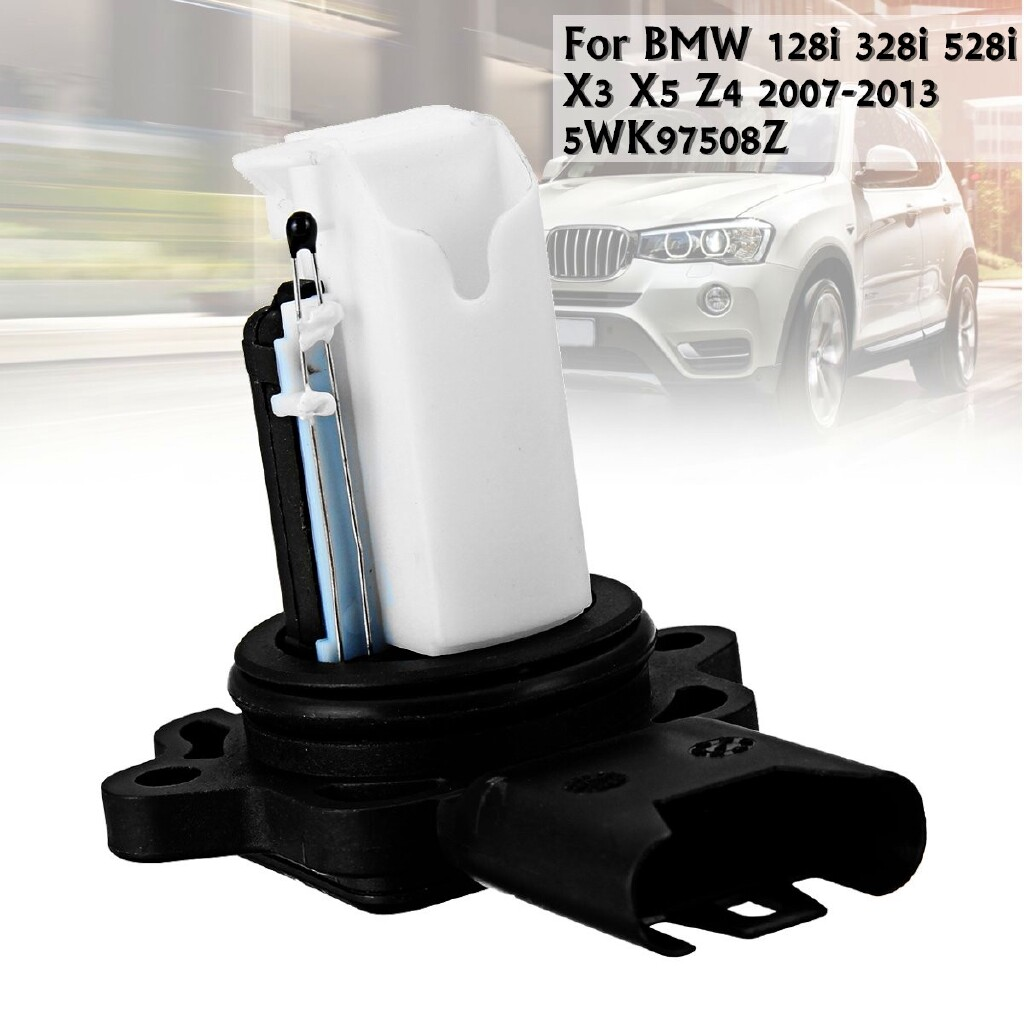 Car Accessories - Mass Air Flow Sensor For BMW 128i 328i 528i X3 X5 Z4 2007-2013 5WK97508Z 07-13 - Automotive
