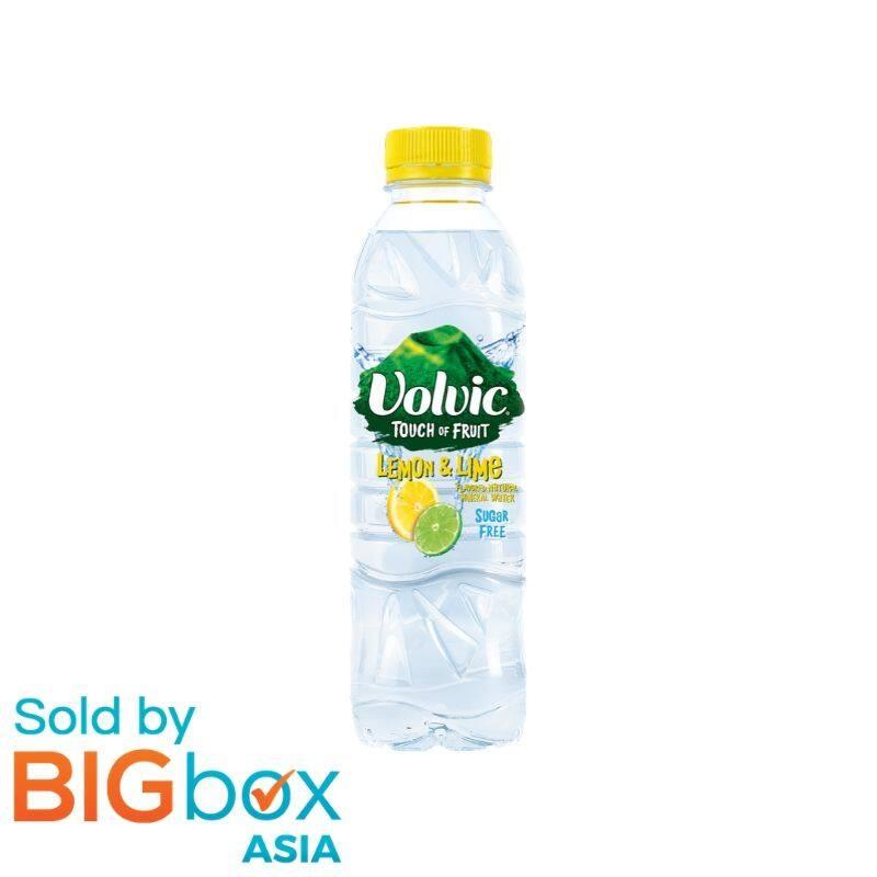 Volvic Touch of Fruit Sugar Free 500ml - Lemon & Lime