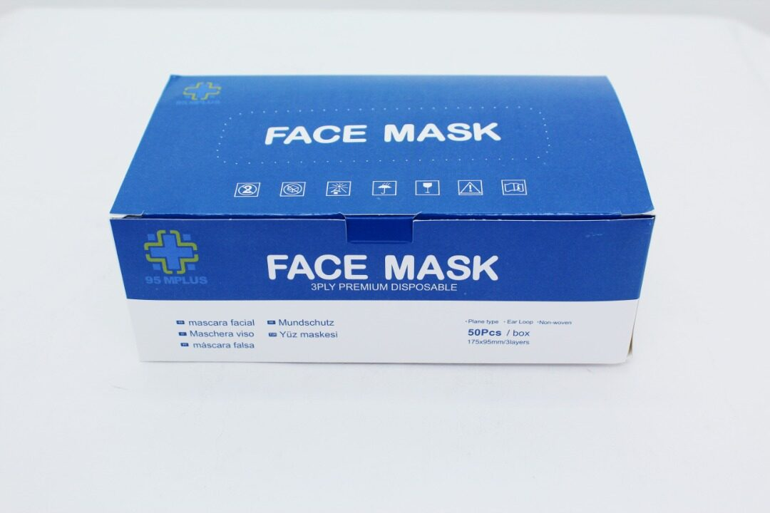 Face Mask 3PLY Premium Disposable 95MPLUS 50PCS Earloop FAST SHIPPING