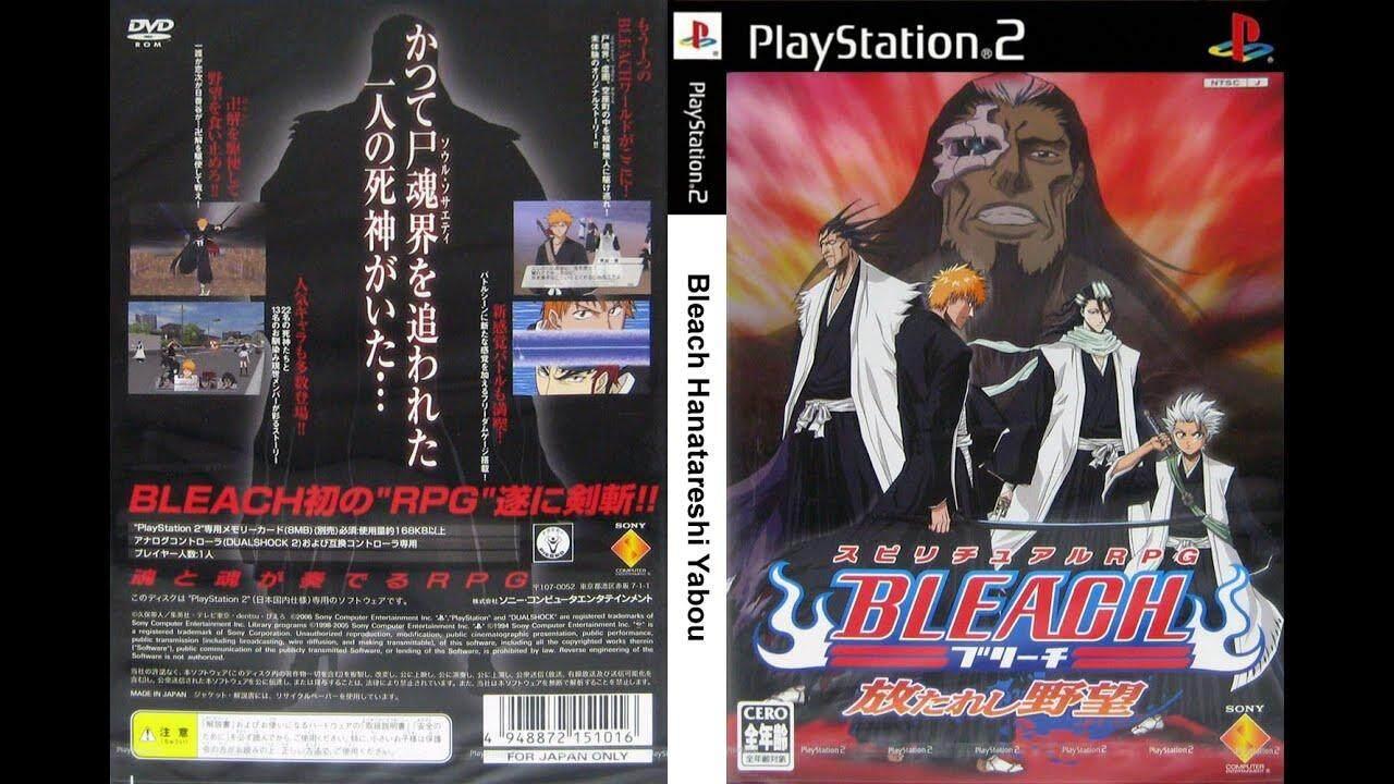 Ps2 Bleach Hanatareshi Yabou