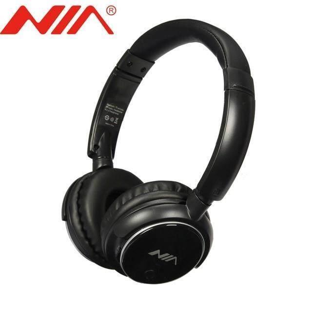 NIA X3 HeadPhone (Fresh Import) Special Price BLACK