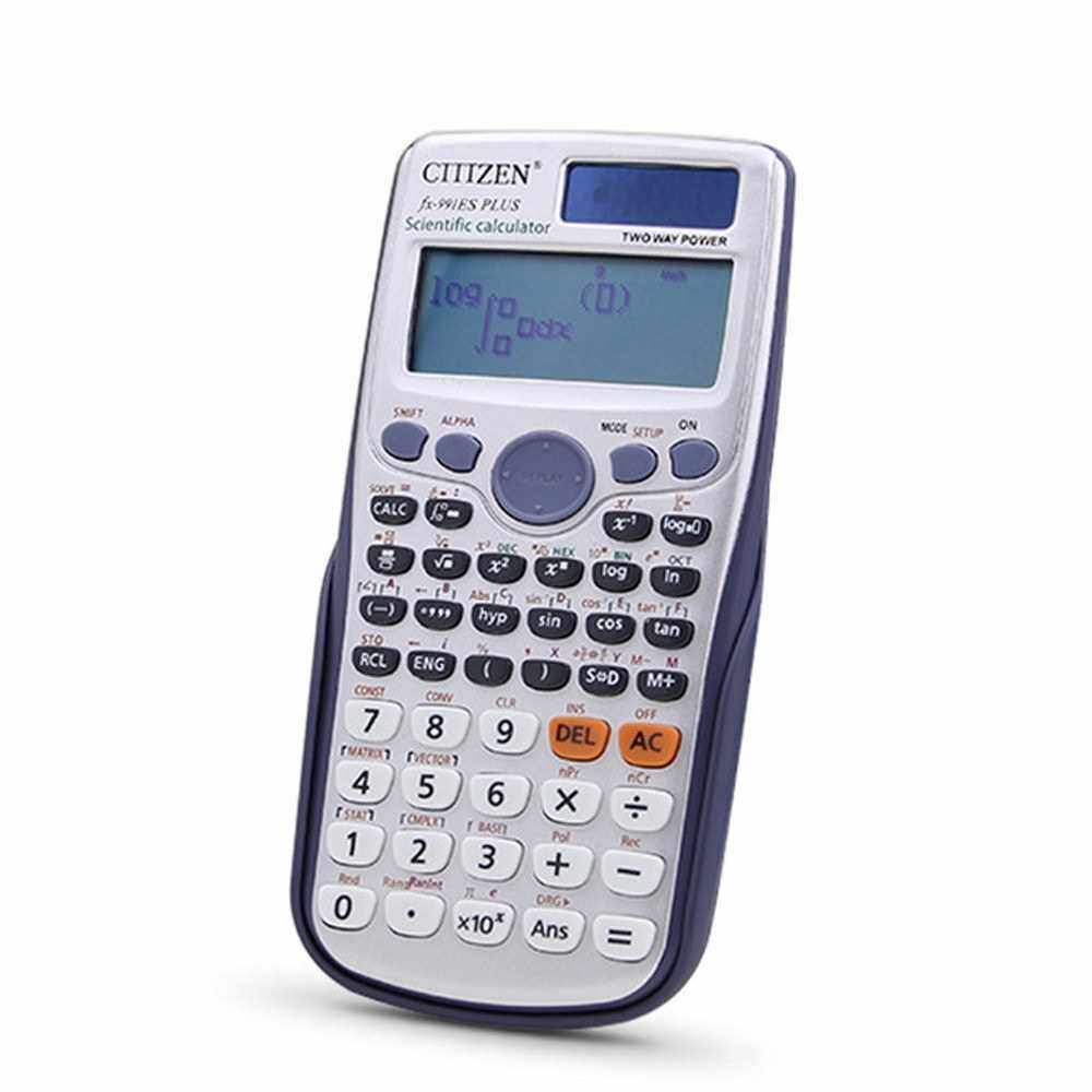 FX-991ES-PLUS Scientific Calculator 417 Functions Large LCD Display for High School University Students and Office Use (Standard)