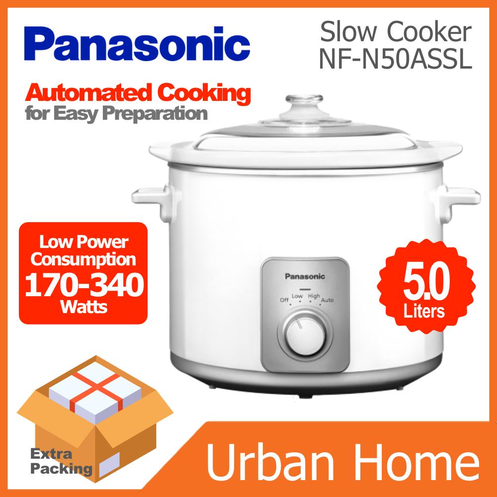 PANASONIC 5.0L Slow Cooker (NF-N50ASSL/NFN50ASSL)