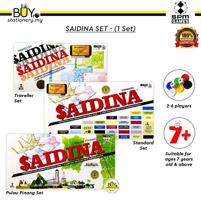 Saidina Spm Games 100% Original - (SET)