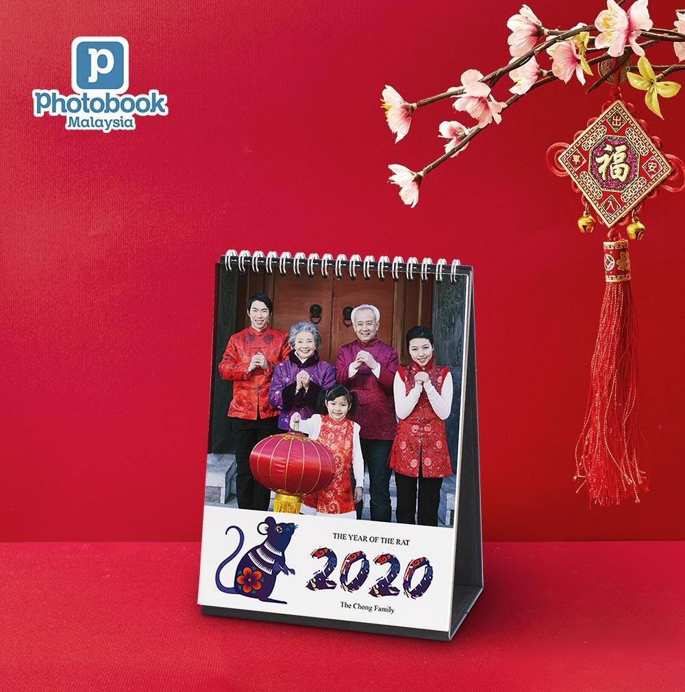 [e-Voucher] Photobook Malaysia 6 x 8 Desk Calendar