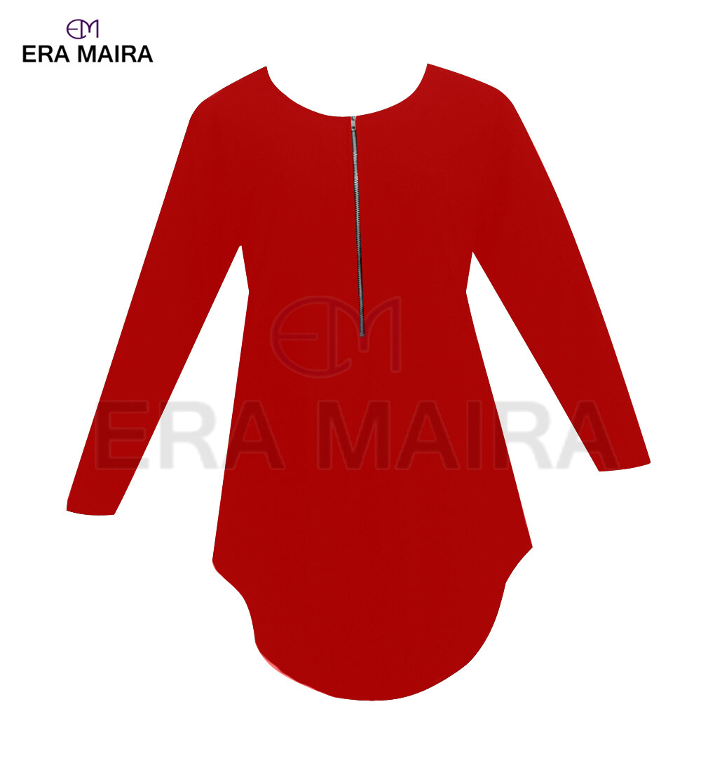 Long sleeve blouse for muslimah - Hijabera