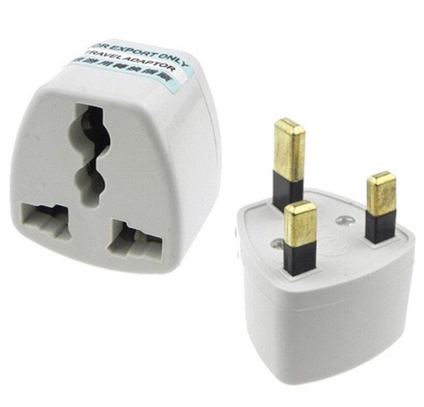 Universal UK 3Pin Travel Plug Socket Converter Adapter