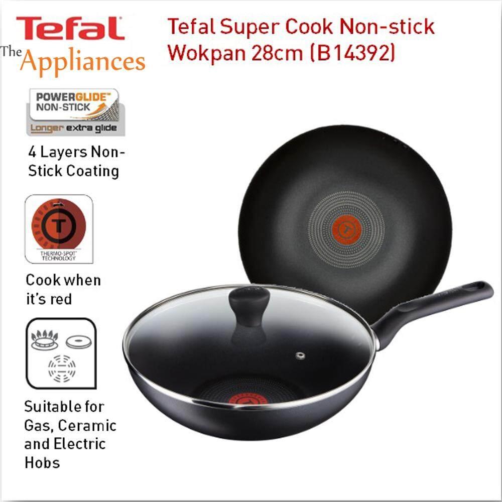 Tefal Super Cook Wokpan with Lid 28cm