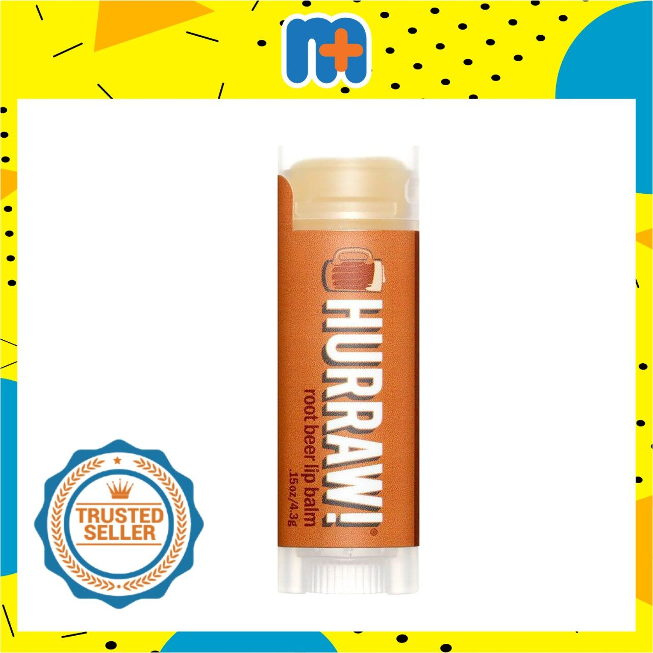 [MPLUS] HURRAW ROOT BEER LIP BALM 4.8G