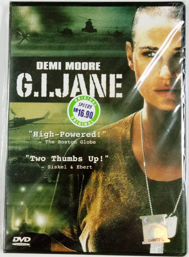 English Movie G.I. Jane DVD 1997 Film Demi Moore