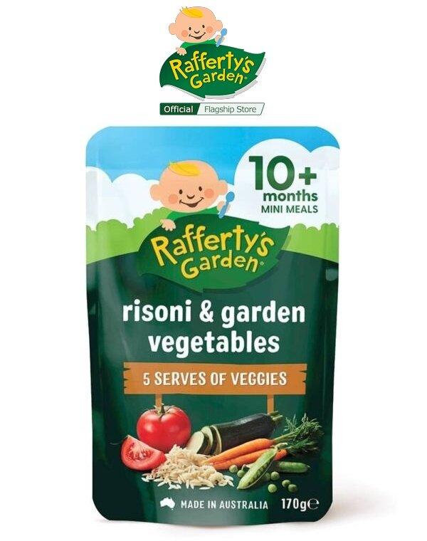 Rafferty's Garden Risoni & Garden Vegetables Baby Mini Meal
