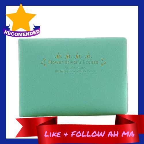 Best Selling Lovely Fresh Candy Color Cards Storage Bag (Green)