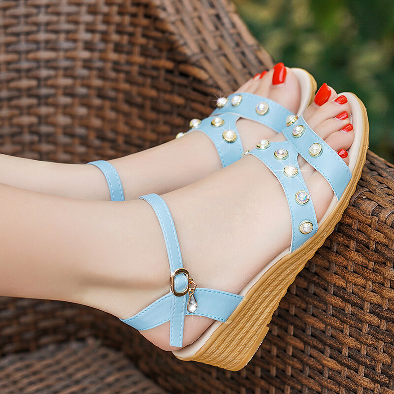 (PreOrder14Days )JYSFashionKoreanStyleWomen Sandal Collection 541 -6499 - EU:37