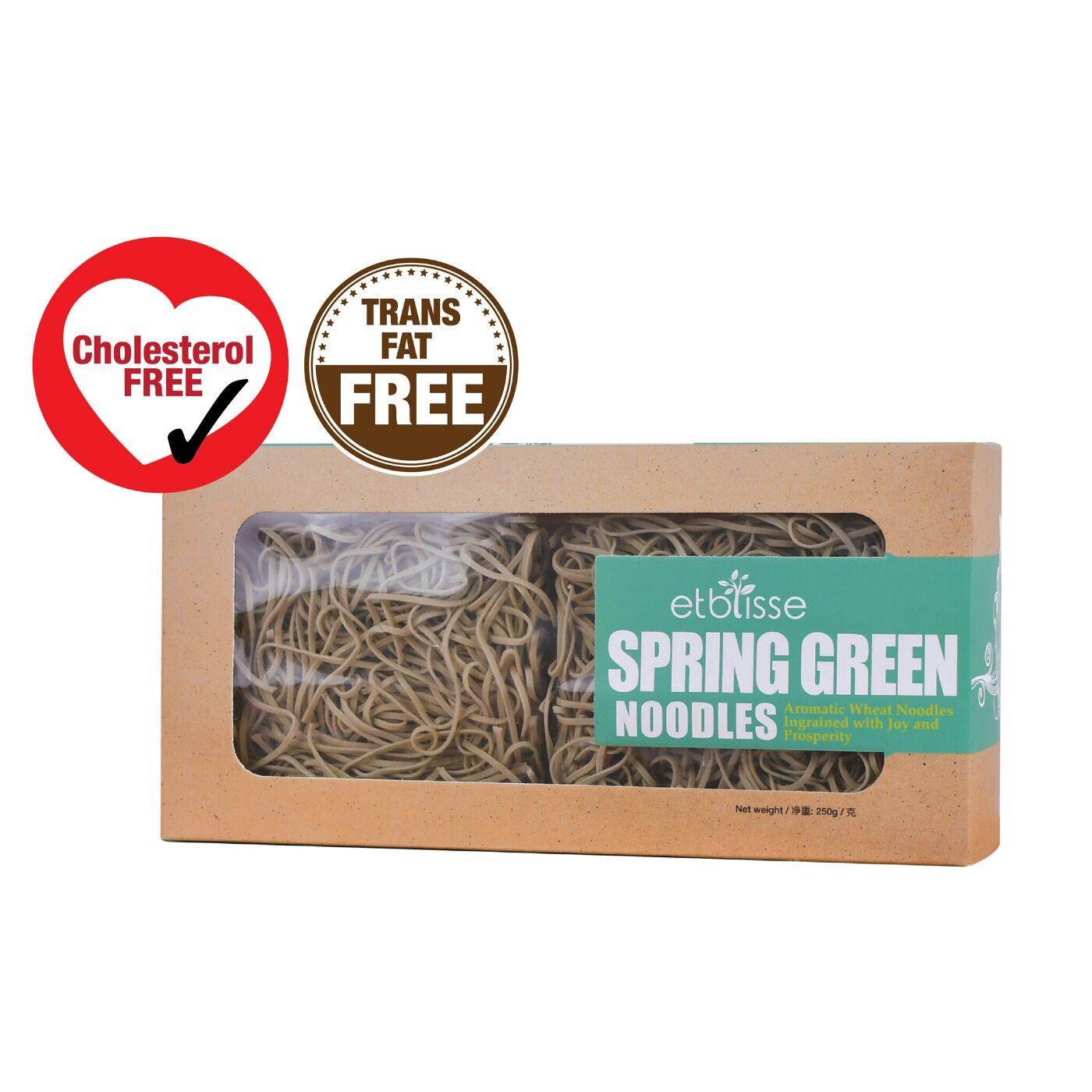 Etblisse Spring Green Noodles, 250g (4 pieces x 62.5g)