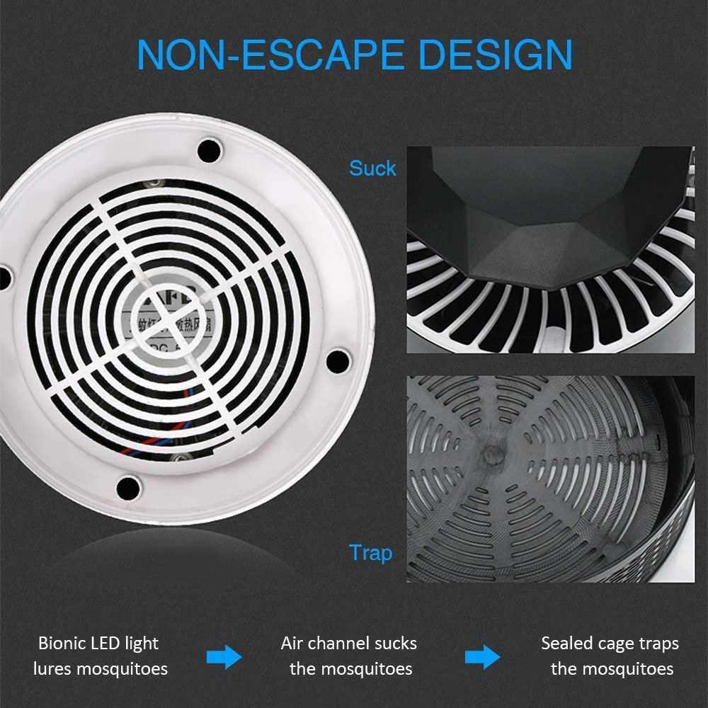 Electric Mosquito Killer Lamp (White)