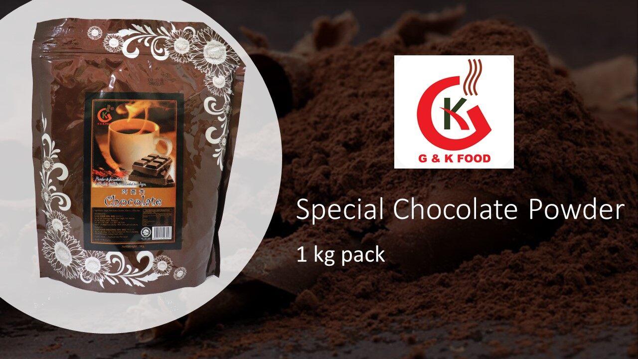 [100% JAKIM HALAL] 1KG Special Chocolate Powder